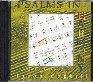 Psalms in Harmony: Four-Part A Cappella (CD)