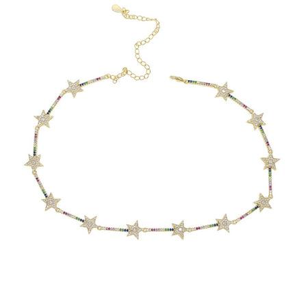 star burst multi lariat