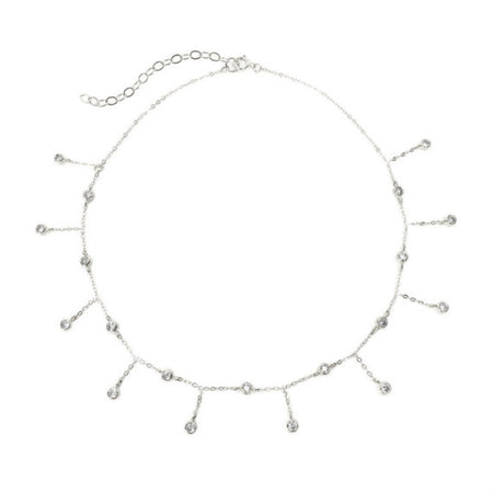 diamond by the yard choker