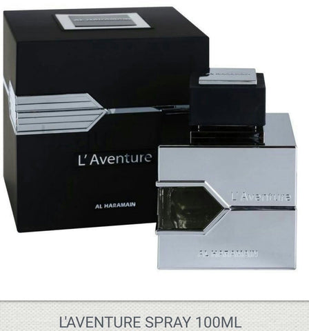 L'Aventure Al Haramain Perfume For Men 100ML Spray  BY AL HARAMAIN
