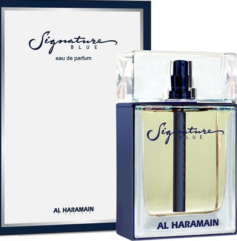SIGNATURE BLUE SPRAY 100ML  BY AL HARAMAIN