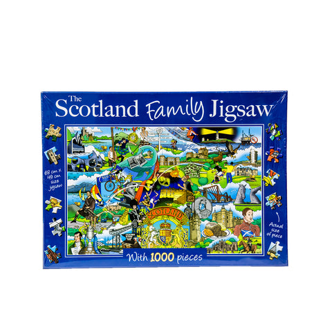 The Scotland Family Jigsaw