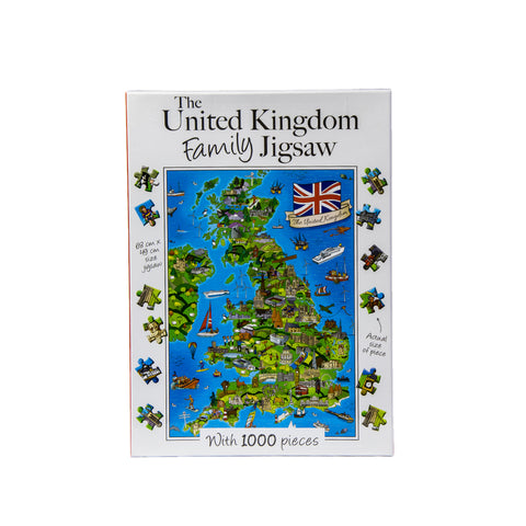 The United Kingdom Family Jigsaw - Jigsaw