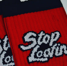 Load image into Gallery viewer, Classic SL Logo Compression Crew Socks