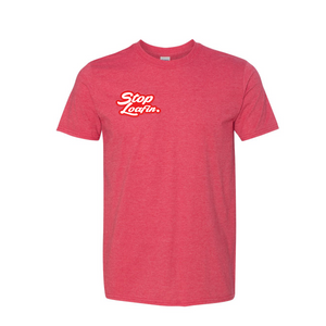 Classic SL Logo Patch Red Short Sleeve Tee