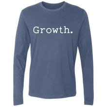 Load image into Gallery viewer, Growth. Long Sleeve Tee
