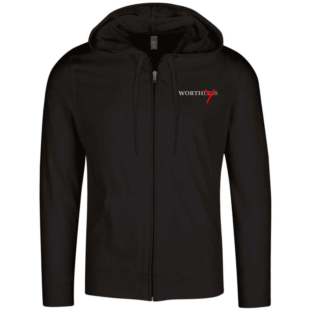 Worthy Lightweight Full Zip Hoodie