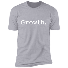 Load image into Gallery viewer, Growth. Short Sleeve Tee (white font)