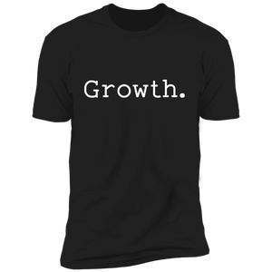Growth. Short Sleeve Tee (white font)