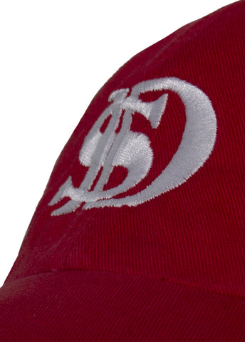 Image of CLASSIC BASEBALL CAP: RED