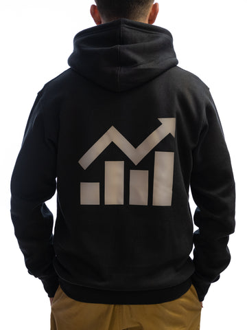 Image of STOCKS RISING HOODIE