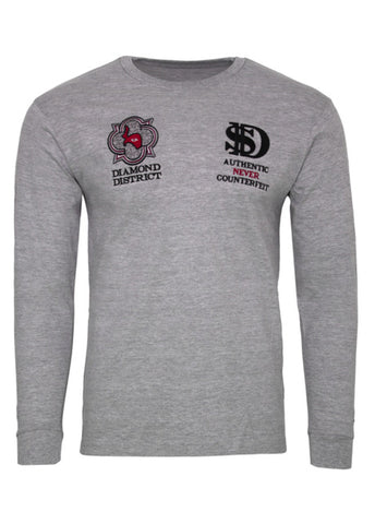 Image of GREY TRAX / SACCHI LONG SLEEVE