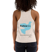 Load image into Gallery viewer, Women's Tri-Blend Racerback Tank (Follow Me)