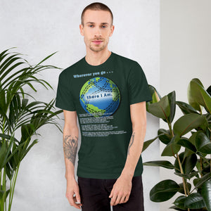 T-Shirt (Unisex) (there I Am)