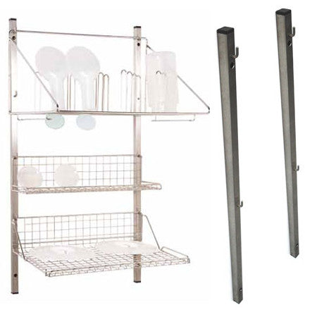 Wall-Mounted Shelf Supports