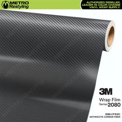 3m anthracite carbon fiber