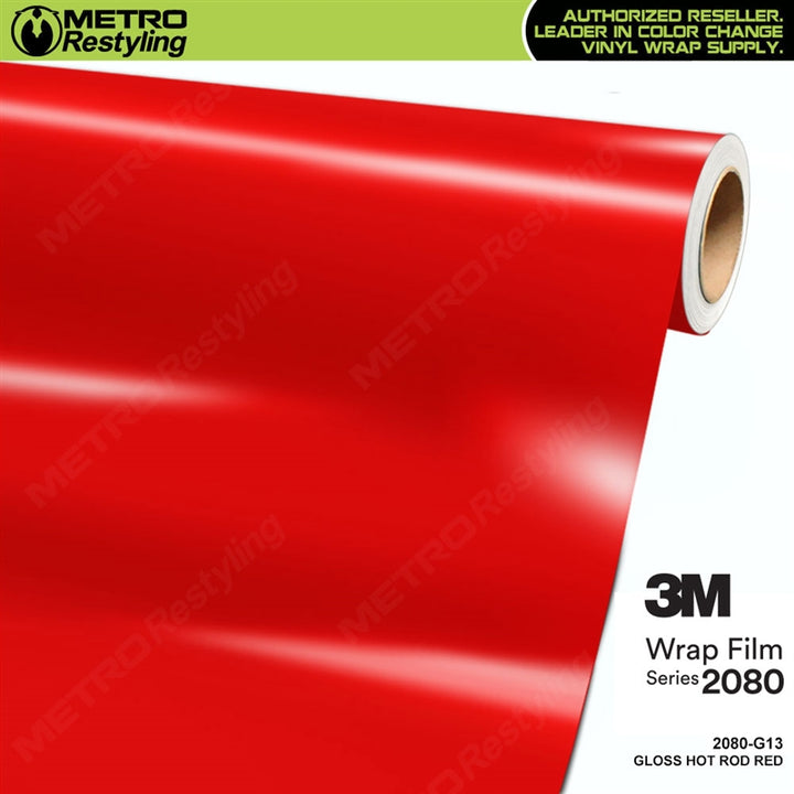 3m gloss hot rod red