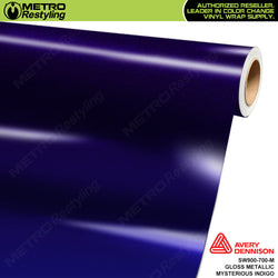 avery dennison gloss mysterious indigo metallic