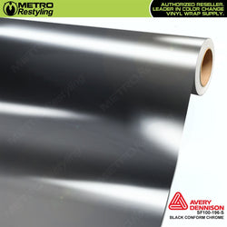 metro avery gloss protected black conform chrome