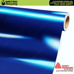 metro avery gloss protected blue conform chrome