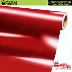 metro avery gloss protected red conform chrome