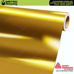metro avery gloss protected gold conform chrome