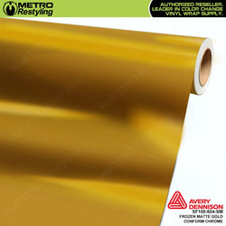 metro avery frozen matte gold conform chrome