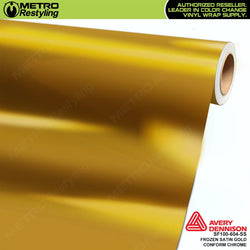 metro avery frozen satin gold conform chrome