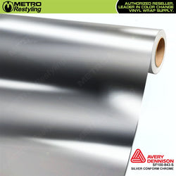 metro avery gloss protected silver conform chrome