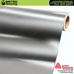 metro avery frozen matte silver conform chrome