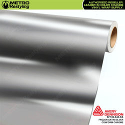metro avery frozen satin silver conform chrome