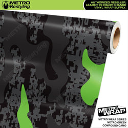 compound metro green camouflage