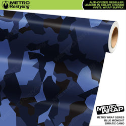 erratic blue midnight camouflage