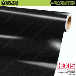 hexis gloss catechu black glitter