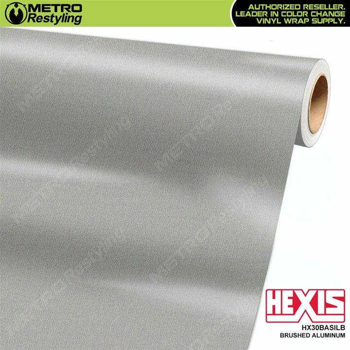 hexis brushed aluminum