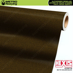hexis matte golden black