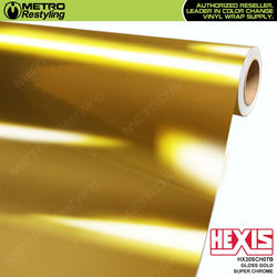 hexis gloss gold super chrome