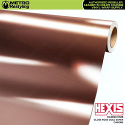 hexis gloss rose gold super chrome