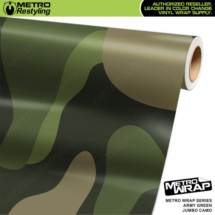 jumbo classic army green camouflage