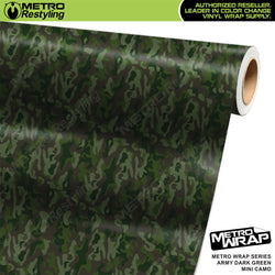 mini classic army dark green camouflage