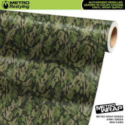 mini classic army green camouflage