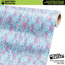 mini classic cotton candy camouflage