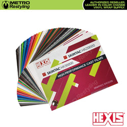 hexis color selector sample book