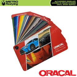 oracal vinyl wrap sample book