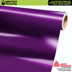 metro avery frozen satin violet conform chrome