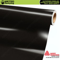 avery dennison gloss black metallic