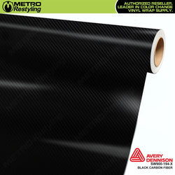 avery dennison black carbon fiber