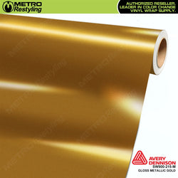avery dennison gloss gold metallic