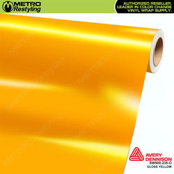 avery dennison gloss yellow