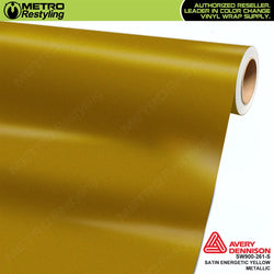 avery dennison satin energetic yellow